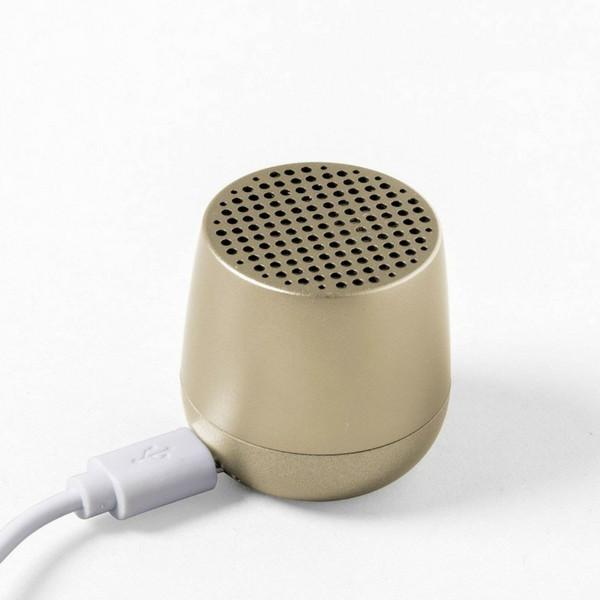 Coluna Bluetooth MINO LA 113 Dourada