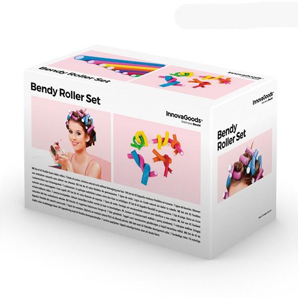 Rolos Flexíveis Modeladores de Cabelo (42 peças)
