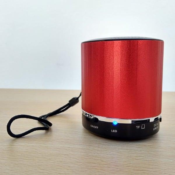 Coluna Redonda Bluetooth